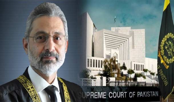 SC Bench For Hearing of Justice Faez Isa Case Dissolved
