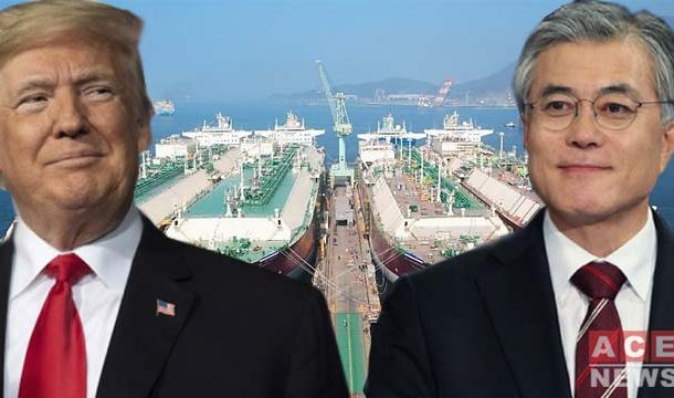 Korean President Will Sign Deal Soon to Increase LNG Imports From US