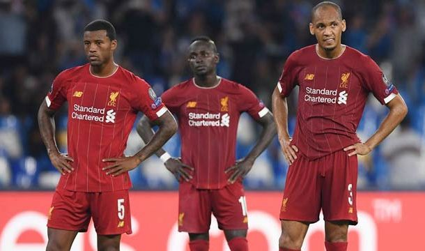 Napoli Beats Liverpool 2-0 in Champions League