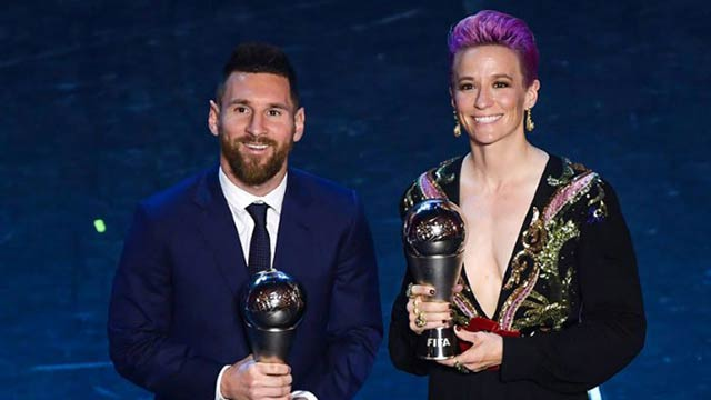 Messi Shines Again, Clinches FIFA Player Of The Year Title
