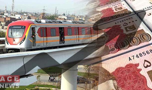 The Cost of Orange Line Train Project Increased by Rs11 Billion