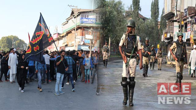 Indian Authorities Ban Muharram Processions in Kashmir