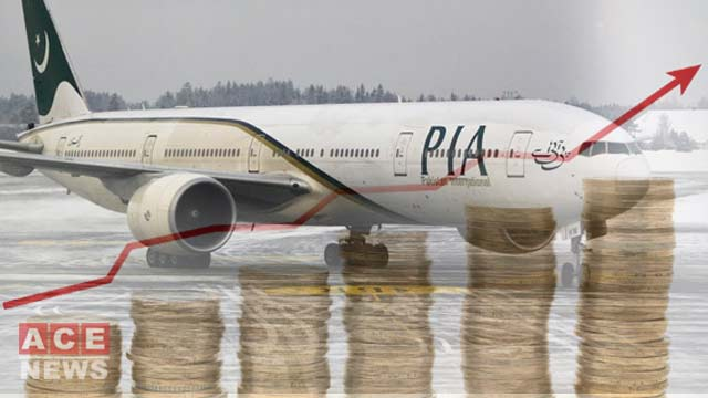 PIA Revenue has Surged by 41%
