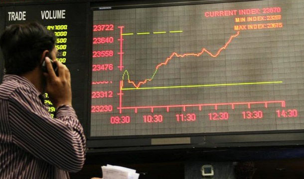 Inflation Drops this Month, Consequently KSE-100 Index Rises to 1,313 Points