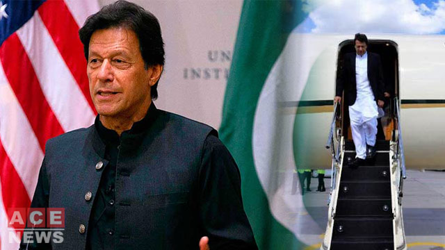 Prime Minister Imran Khan Heads to US From Saudi Arabia