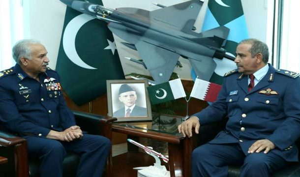 Qatari Air Chief Lauds Professionalism of Pakistan Air Force