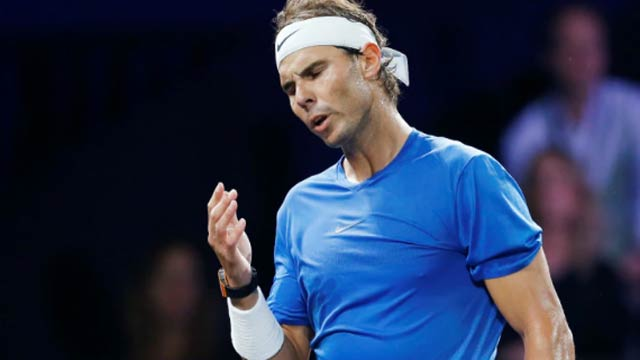 Nadal Pulls Out Of Laver Cup With Hand Injury