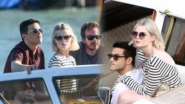 Rami, Lucy Riding a Boat at Venice Film Festival to Grab Attention