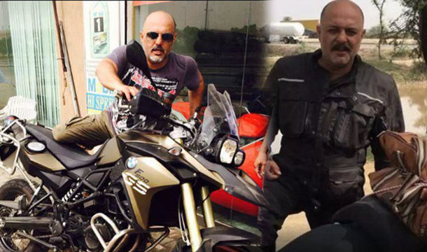 Rock Singer, Ali Azmat Covered 10,000 Km in Europe on Motorcycle