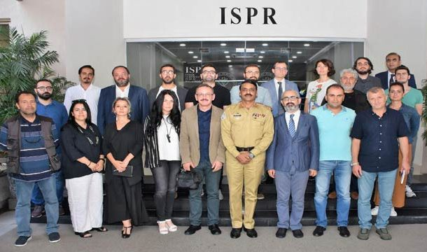 Pakistan's Military Briefs Turkish Journalists About LOC Situation