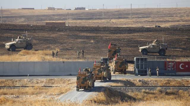 U.S.-Turkish Troops Planned 2nd Security Zone Joint Patrols in North Syria