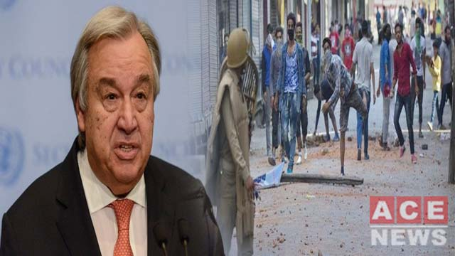 UN Chief To Raise Kashmir Issue At UN General Assembly Session