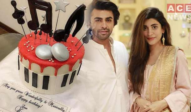 Urwa Celebrates 35 Birthday of Her Husband, Farhan Saeed