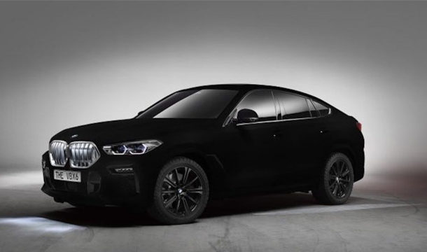 BMW Unveiled Special Edition BMW X6 that You Might Struggle to See