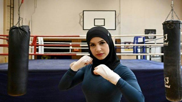 German Woman Boxer's Fight To Wear Headscarf In The Ring