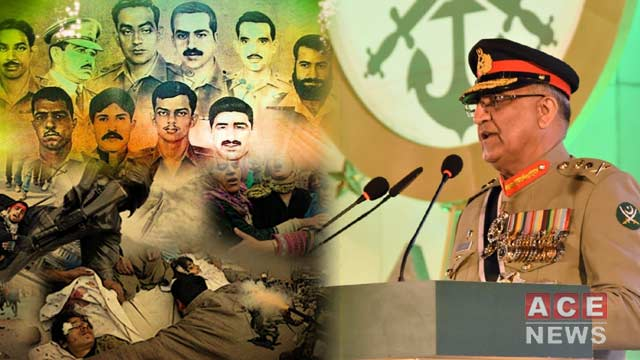 Pakistan Armed Forces Ensure Security By Rendering Sacrifices: COAS