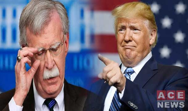 Trump Fires US National Security Chief 'John Bolton'