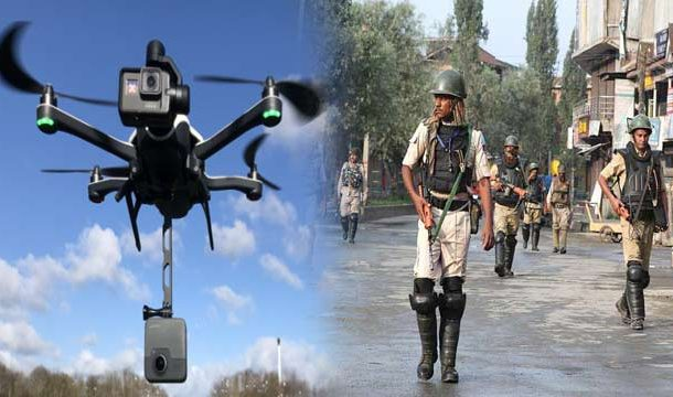 IOK: Indian Police Using Drones to Monitor People's Activities