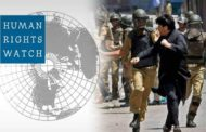 Human Rights Watch Raises Voice For Detainees In Kashmir