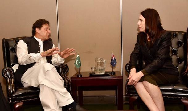 PM Imran Discuss Kashmir Situation With 'Jacinda Ardern'