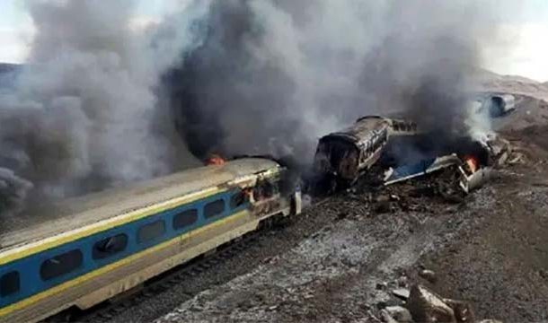 Train Accident in Iran, 5 Killed