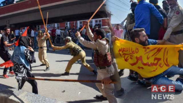 IOK: Several Injured in Clashes During Muharram Processions
