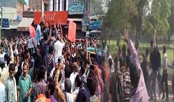 Protests Erupted In Kasur After Three Minors Raped, Murdered