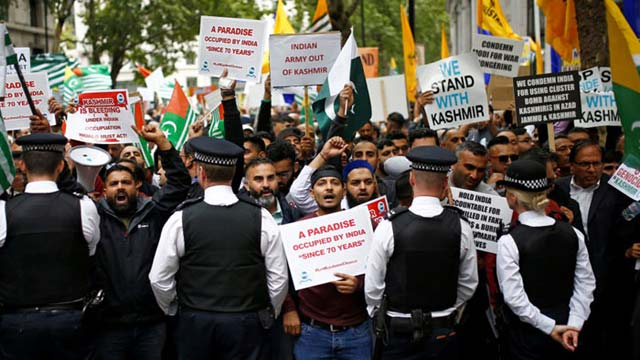 Massive Protest Planned in London to Support Kahshmiris