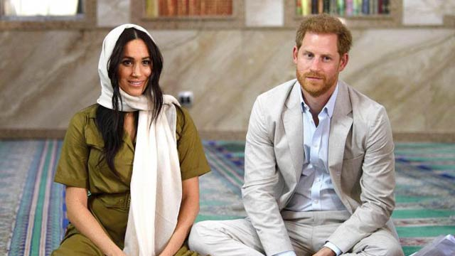 Royal Tour: Meghan Markle In Headscarf Visits South Africa's Oldest Mosque