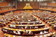 Opposition Stages Protest After Speaker Denies Ahsan Iqbal Speech