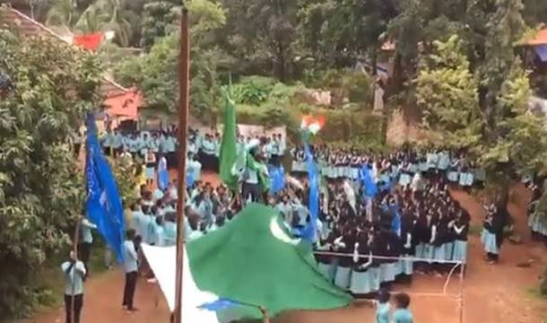 Over 30 Booked in India For Waving Pakistani Flag