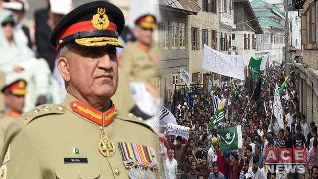 Kashmir Not a Geographic Issue But Part of Our Soul: COAS