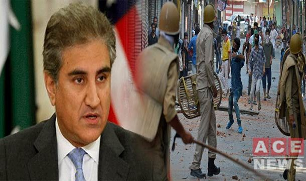 Qureshi Said, World Must Let Kashmir Speak and Be Heard