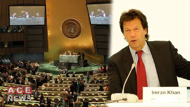 PM Imran To Highlight Kashmir Issue In UNGA Address Today