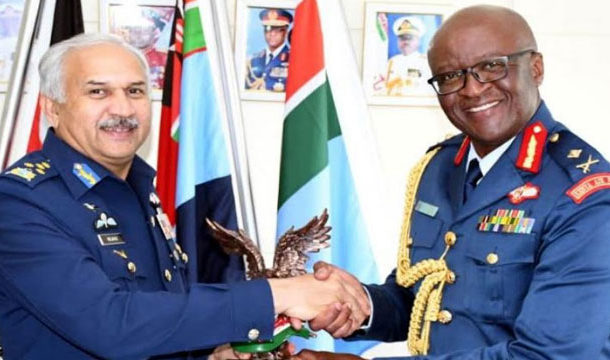 Kenyan Air Force Chief Appreciates PAF'S Professionalism