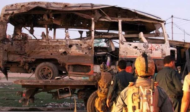 Bomb Attack on Bus in East Afghanistan