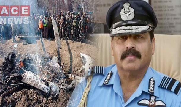 IAF Chief Admits Big Mistake To Downing Their Own Helicopter on Feb 27