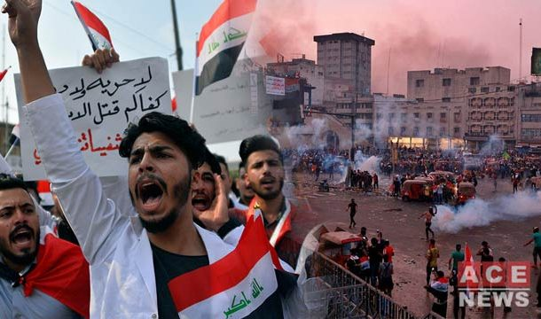 Baghdad: Unrest Grows As Thousands Defy Curfew