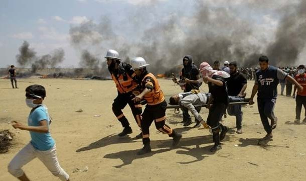 Israeli Fire Killed Palestinian in Border Clashes