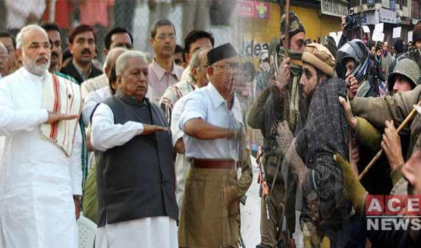 RSS Led Indian Govt. Plotting To Bring Hindu Chief Minister In IOK