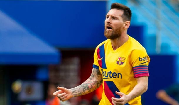 Champions League: Messi  Breaks Another Record In Barcelona Win