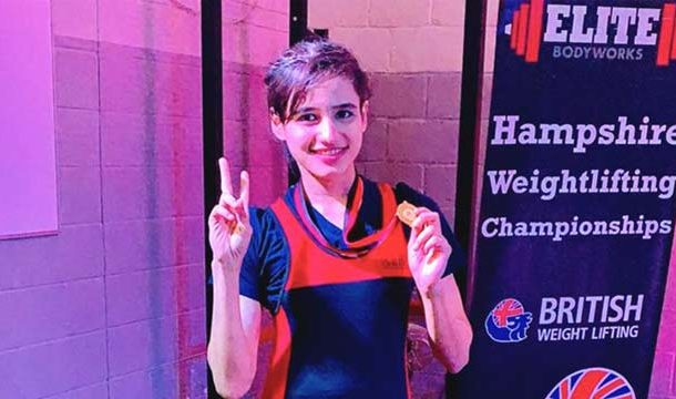 Pakistani Athlete Wins Gold In Hampshire Weightlifting Championship