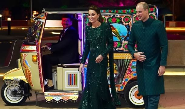 Royal Couple Just Had Their Most Glam Moment in a Rickshaw