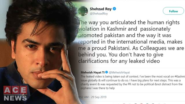 Shehzad Roy has Come Out to Support Mehwish Hayat