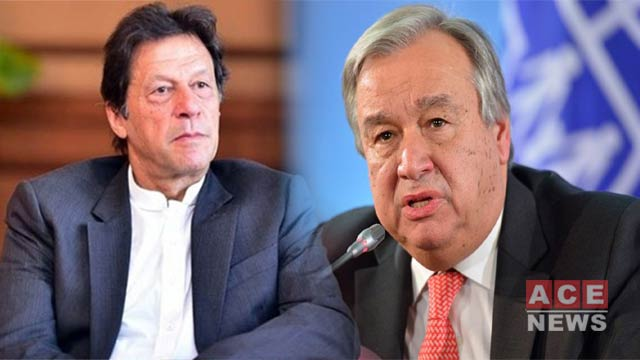 UN Chief Hails  Pakistan's Efforts To De-Escalate Gulf Tensions