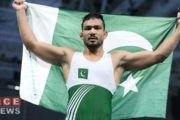 Pakistani Wrestler Wins Gold At World Beach Games