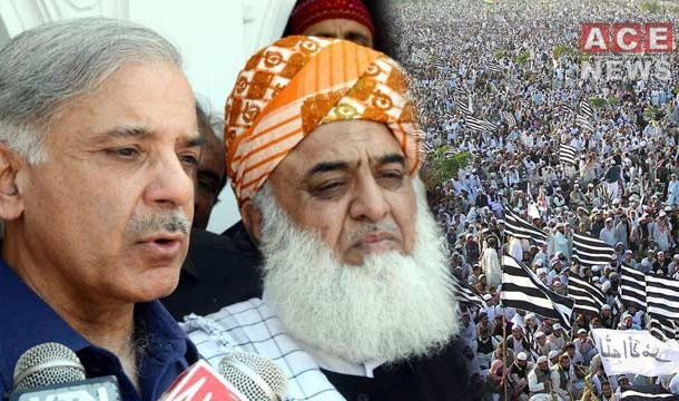JUI-F Chief Agrees To Ponder Postponing Long March Plea