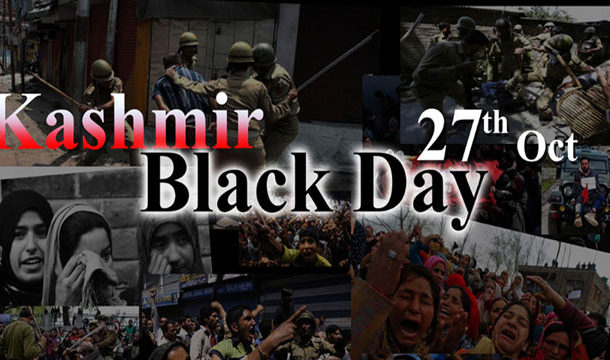 Kashmiris On Both Sides of LOC to Observe Black Day Today
