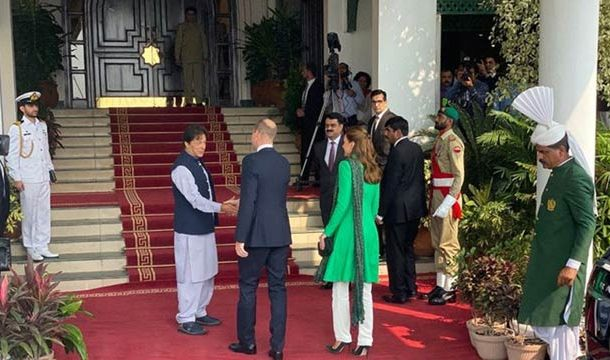 Prince William, Kate Middleton Meet PM Imran, President