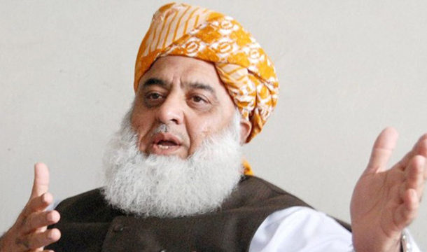 War Against Govt Will Only End With Its Fall: Mulana Fazal